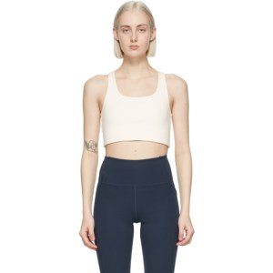 Girlfriend Collective Off-White Paloma Sports Bra