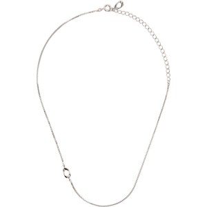 Numbering Silver 947 Choker Necklace