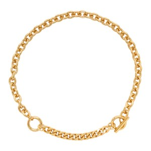Numbering Gold 985 Necklace