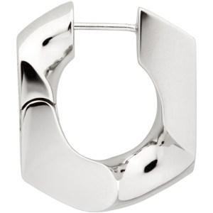 Numbering Silver 251 Single Earring