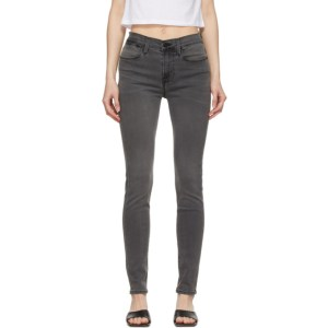 Frame Grey Le High Skinny Jeans