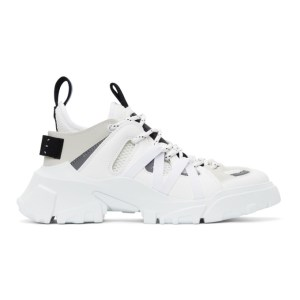 MCQ White Orbyt Descender No.2 Sneakers
