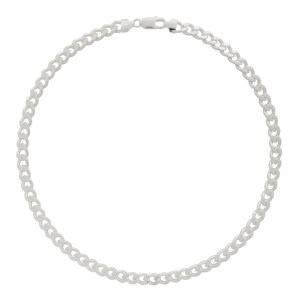 Hatton Labs Silver Cuban Chain Necklace
