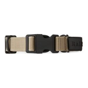 RAINS Beige Webbing Collar
