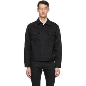 Naked and Famous Denim Black Selvedge Denim Jacket