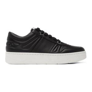 Jimmy Choo Black Hawaii/F Sneakers