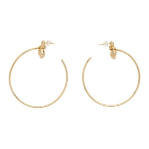 1064 Studio Gold Shape Of Water 08E Earrings