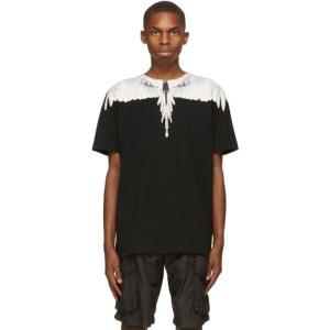 Marcelo Burlon County of Milan Black Wings T-Shirt