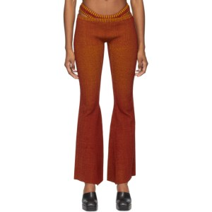 ISA BOULDER SSENSE Exclusive Red Tent and Boyish Lounge Pants