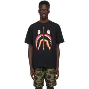 BAPE Black Color Shark T-Shirt