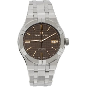 Maurice Lacroix Silver Aikon Automatic Watch