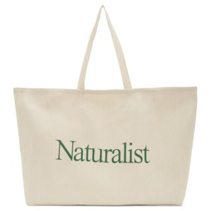 Museum of Peace and Quiet Beige Twill Naturalist Tote
