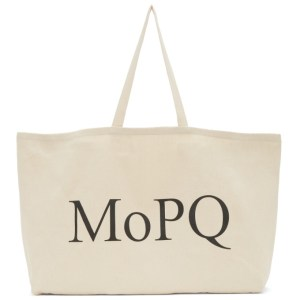 Museum of Peace and Quiet Beige Twill MoPQ Tote