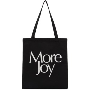More Joy Black Logo Tote