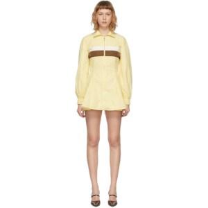 Kijun Yellow Track Longer Jumper Dress