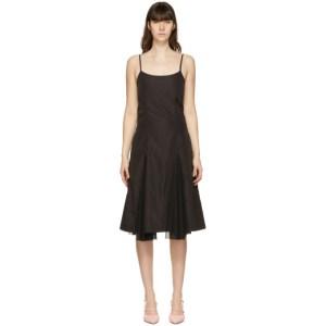 Kijun Black Waterfall Dress