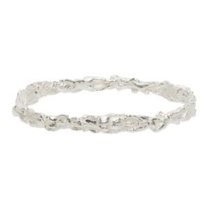 Georgia Kemball Silver Orgy Bangle Bracelet