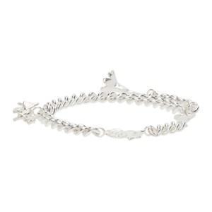 Georgia Kemball Silver Pendant Bracelet