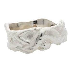 Georgia Kemball Silver Orgy Ring