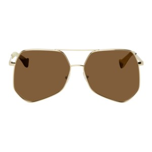 Grey Ant Gold Megalast Sunglasses