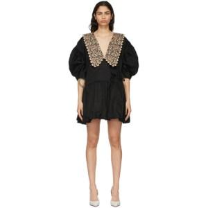 Kika Vargas Black Victoria Dress