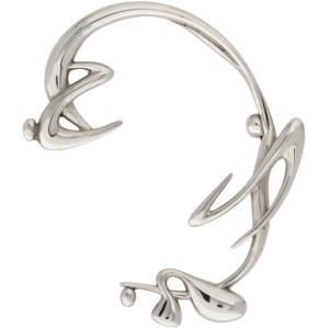 Hannah Jewett Silver Thorn Single Right Ear Cuff