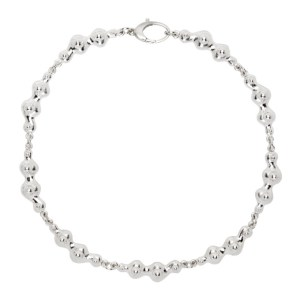 Hannah Jewett Silver Lava Choker Necklace