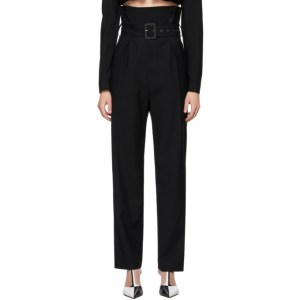 KIMHEKIM Black Wool Emma Trousers