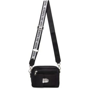 Won Hundred Black Nylon Athen Bag
