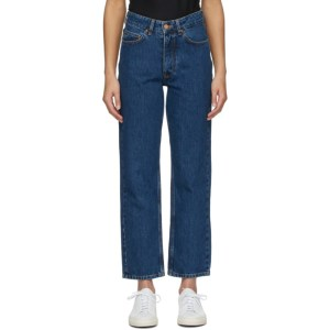 Won Hundred Navy Pearl Jeans