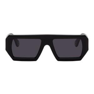 Etudes Black Rectangular Sunglasses