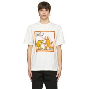 Etudes Off-White Keith Haring Edition Wonder Dancing Dogs T-Shirt