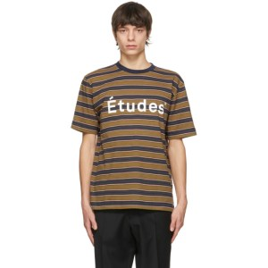 Etudes Multicolor Striped Wonder Etudes T-Shirt