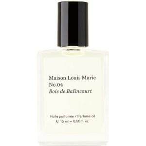 Maison Louis Marie No.04 Bois De Balincourt Perfume Oil, 15 mL