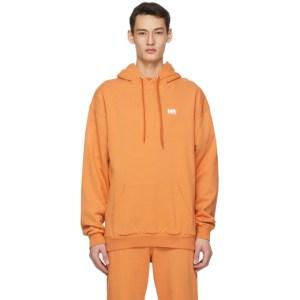 M.A. Martin Asbjorn Orange Logo Hoodie