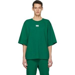 M.A. Martin Asbjorn Green Logo T-Shirt