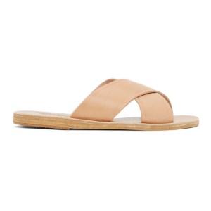 Ancient Greek Sandals Tan Thais Sandals
