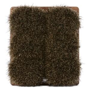 Shaquda Walnut and Badger Bristle Short Body Brush