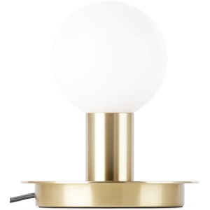 Lambert and Fils Brass Dot Table Lamp, CA/US