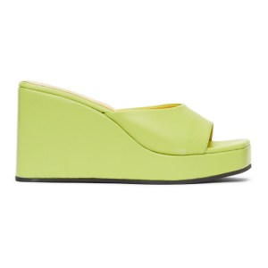 Simon Miller Yellow Level Wedge Sandals
