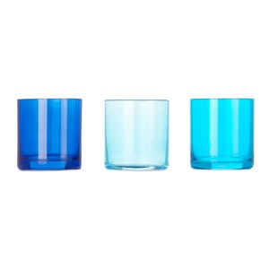 Lateral Objects Multicolor Marine Glow Votive Set