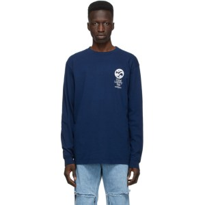 Total Luxury Spa Navy An Act Of Balance Long Sleeve T-Shirt