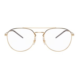 Ray-Ban Gold Aviator Glasses