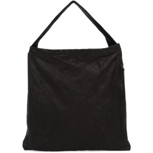 Ys Black Side Zip Tote