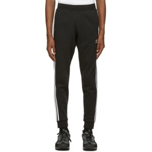 adidas Originals Black 3-Stripes Track Pants
