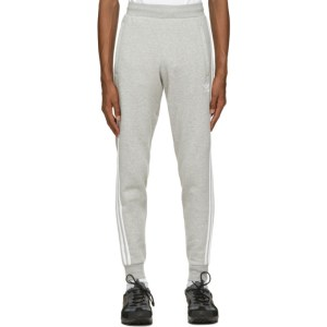 adidas Originals Grey 3-Stripes Lounge Pants