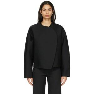 Toteme Black Wool Dinner Jacket