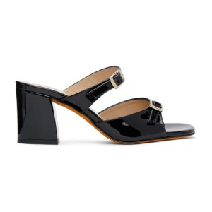 Maryam Nassir Zadeh Black Una Sandals