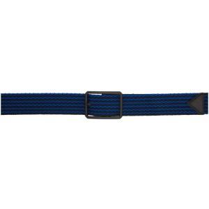 Bottega Veneta Black and Blue Woven Belt
