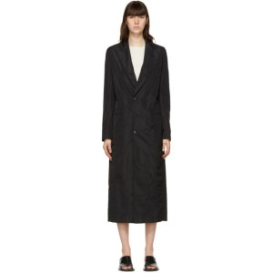 GAUCHERE Black Solange Trench Coat